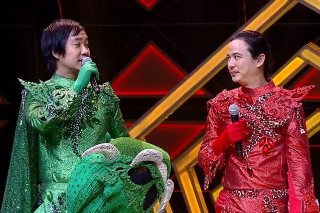 หน้ากากยักษ์เขียวยักษ์แดง เฉลย จั๊ก ชวิน และ ปิงปอง ศิริศักดิ์