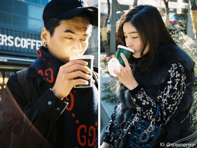 ฮั่น เดอะสตาร์ กับ จียอน ที่กรุงโซล ประเทศเกาหลีใต้