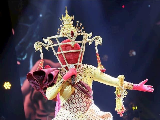 หน้ากากนางรจนา คือ อ้วน วารุณี สุนทรีสวัสดิ์ The Mask วรรณคดีไทย