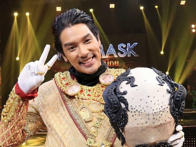 หน้ากากขุนช้าง คือ ดีเจแมน พัฒนพล The Mask วรรณคดีไทย