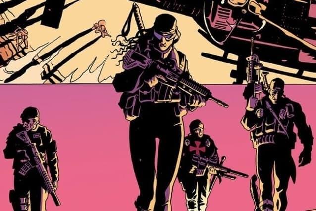 ภาพจากหนังสือการ์ตูน The Old Guard