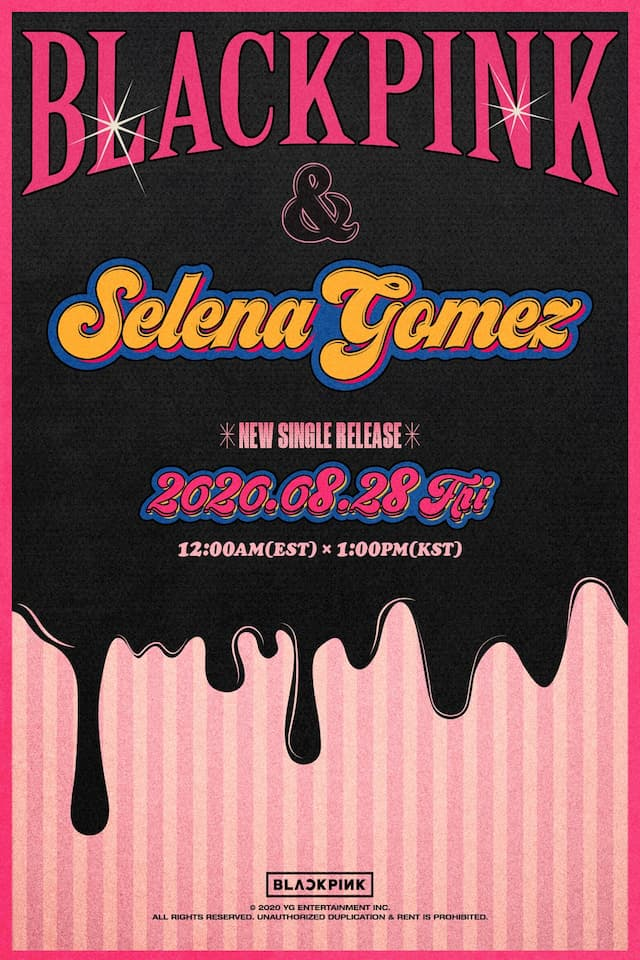 เซเลน่า โกเมซ ฟีเจอริ่ง BLACKPINK อย่างเป็นทางการ #SELPINK in your area !