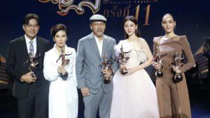 สรุปผลรางวัลนาฏราช ครั้งที่ 11 : กรงกรรม คว้า 7 จาก 9 สาขาละครโทรทัศน์