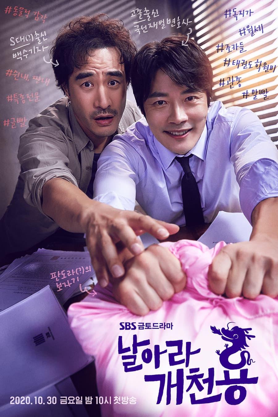 โปสเตอร์ซีรีส์ Fly Dragon (2020)