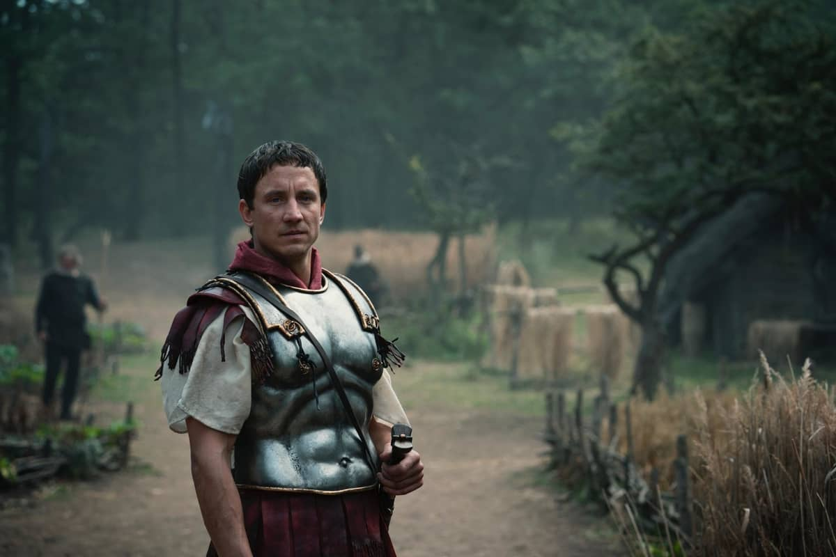 Laurence Rupp ในซีรีส์ Barbarians ศึกบาร์เบเรียน