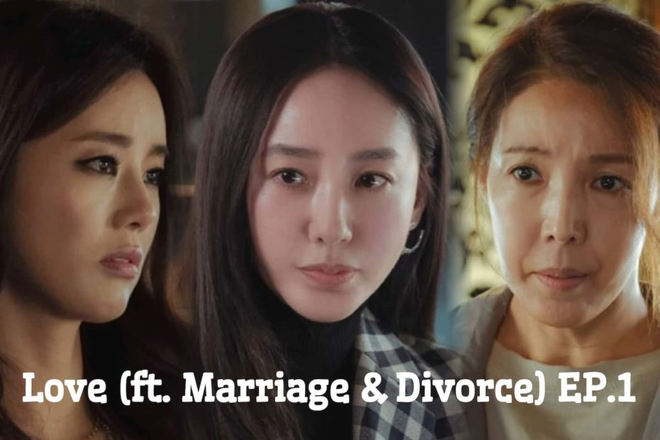 รีแคปสรุปซีรีส์ Love (ft. Marriage and Divorce) EP.1 : ชีวิตคู่ มีชู้ และหย่าร้าง