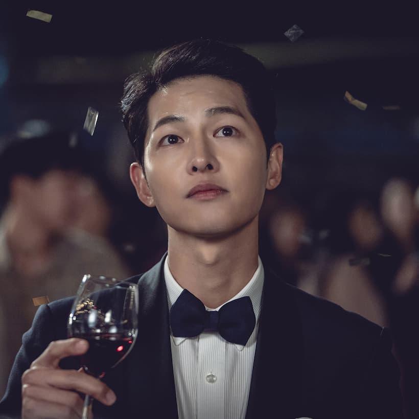 วินเซนโซ รับบทโดย ซงจุงกิ