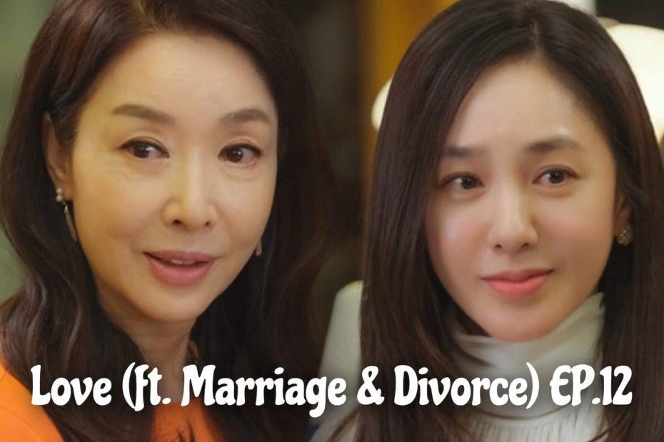 รีแคปซีรีส์ Love (ft. Marriage and Divorce) EP.12 : เป็นเมียน้อยก็ยอม