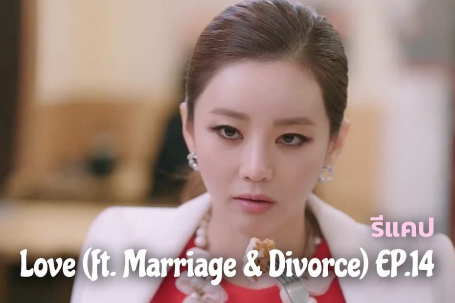 รีแคปซีรีส์ Love (ft. Marriage and Divorce) EP.14 : แต่งหน้าเหมือนตัวแร็กคูน