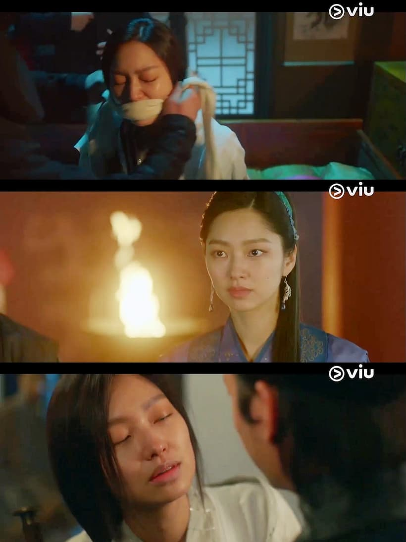 การล้างแค้นที่เตรียมการมาครึ่งค่อนชีวิตของหัวหน้าชอนจูบังล้มเหลว เมื่ออนดัลและองค์หญิงพยองกังช่วยพระราชาพยองวอนกับองค์รัชทายาทเอาไว้ได้ทัน แต่ก่อนที่องค์หญิงจะสังหารหัวหน้าชอนจูบัง พระองค์ก็เกิดสำนึกบุญคุญที่เขาเคยช่วยชีวิตเอาไว้  เมื่อพระราชาพยองวอนอาการดีขึ้น พระองค์กำลังสืบสวนว่าเรื่องที่เกิดขึ้นเป็นความผิดของพระมเหสีหรือพระสนม ทันใดนั้น องค์หญิงก็เข้ามาแทรกว่าพระสนมไม่มีความผิด เป็นเพียงเพราะนางโดนล่อลวง เพียงเพราะอยากตั้งครรภ์ แต่สำหรับพระมเหสีแล้วองค์หญิงมองว่าพระนางมีความผิดเต็ม ๆ จึงสมควรโดนลงโทษสถานหนัก ... หากทว่า เรื่องนี้โกวอนพโยได้วางแผนเอาไว้แล้ว เขาได้บอกพระมเหสีเรื่องที่องค์หญิงเคยลอบปลงพระชนม์ฝ่าบาทที่งานพิธี เมื่อพระมเหสีเอ่ยเรื่องนี้ต่อหน้าฝ่าบาท ทำให้พระองค์ทรงกลืนไม่เข้าคายไม่ออก รับสั่งให้เก็บเรื่องทั้งหมดเป็นความลับ และขอให้ทั้งหมดเป็นเพียงแค่เรื่องในอดีต เพราะถ้าเรื่องนี้ล่วงรู้ไปถึงเหล่าขุนนางจะกลายเป็นเรื่องใหญ่  จากนั้น ก็มีกลุ่มบุคคลลึกลับสวมชุดดำ แอบเข้ามาช่วยหัวหน้าชอนจูบังแหกคุกออกไปได้ ... ในขณะที่อนดัลก็มาที่หุบเขาผี เพื่อให้ทุกคนเก็บข้าวของเตรียมย้ายไปอยู่ที่พยองยาง ยกเว้นท่านแม่ที่ยืนยันจะอยู่ที่หมู่บ้านแห่งนี้ต่อไป โดยมีหนูน้อยวอลคอยอยู่ช่วยดูแลนาง ... ส่วนสถานการณ์ทางด้านการเมืองในวังหลวงตอนนี้ ดูเหมือนจะคุกรุ่นอย่างที่ไม่เคยเป็นมาก่อน คล้ายดั่งว่าเวลาแตกหักใกล้จะมาถึงแล้วในไม่ช้า  ต่อมาเราก็ได้รู้ว่า คนที่จับตัวหัวหน้าชอนจูบังไปก็คือโกกอนนั่นเอง ... แล้วคนที่จับตัวโมยองไปก็คือคนของซิลลา เพื่อหวังจะสังหารนางที่ให้ข่าวลวงเรื่องกองทัพโจวตอนเหนือกับสถานการณ์ในโคกูรยอ แต่สุดท้าย กษัตริย์ของซิลลามีรับสั่งด้วยพระองค์เองกับโมยอง คือ รับสั่งให้สังหารองค์หญิงพยองกังซะ เพราะเป็นเสี้ยนหนามสำคัญในการรวมสามแผ่นดินของพระองค์ จากนั้นโมยองก็ถูกส่งตัวกลับมา  องค์หญิงคิดจะรวบอำนาจกลับคืนมาจากโกวอนพโย ทำให้พระองค์คิดใช้จุดอ่อนเรื่องที่โกวอนพโยคบชู้กับพระมเหสีมาใช้เล่นงาน โดยวางแผนสร้างเรื่องจดหมายรักที่พระมเหสีเขียนถึงโกวอนพโยขึ้นมา ซึ่งดูเหมือนว่าจะได้ผล เพราะมันเป็นเพียงจดหมายปลอมที่องค์หญิงทรงทำขึ้นเพื่อเป็นเหยื่อล่อ !!?